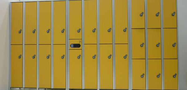 plastic laminated lockers